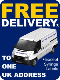 Free delivery to one uk address