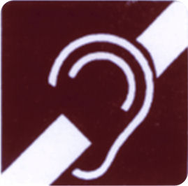 Hearing Impaired Label
