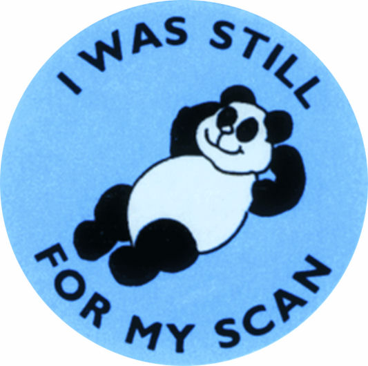 I was still for my scan label