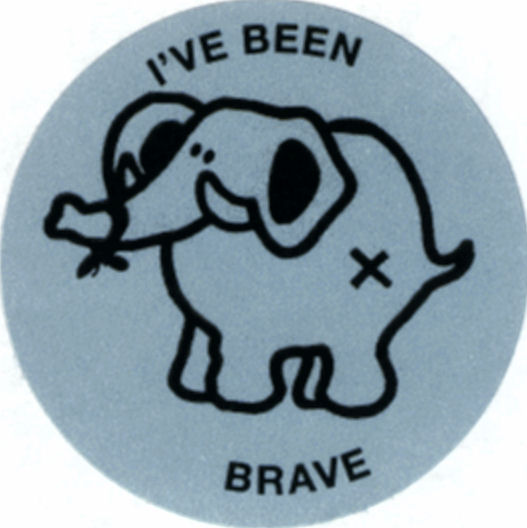 I was Brave label